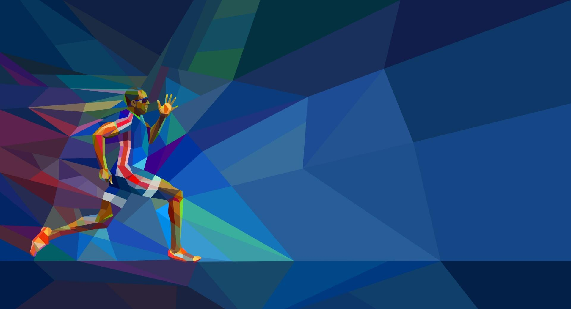 Male Olympic Runner wallpapers HD quality