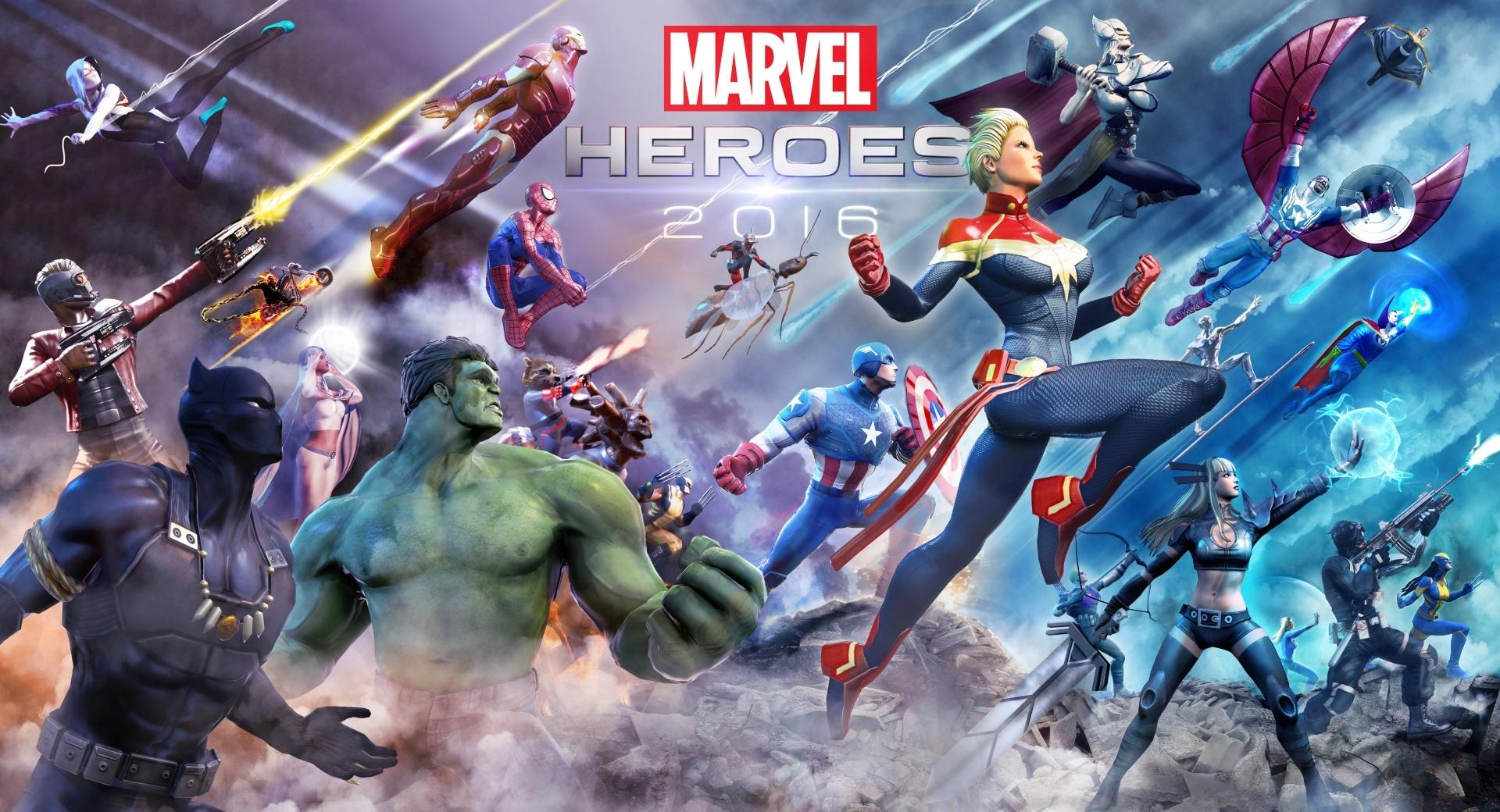 Marvel Heroes 2016 wallpapers HD quality