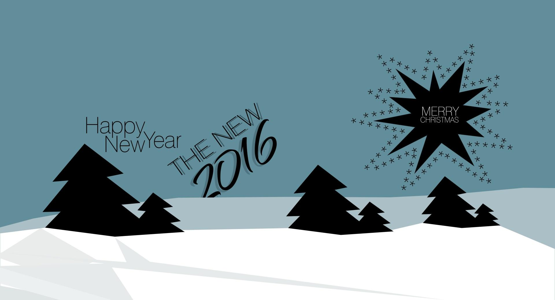 MERRY Christmas and Happy New Year 2016 wallpapers HD quality