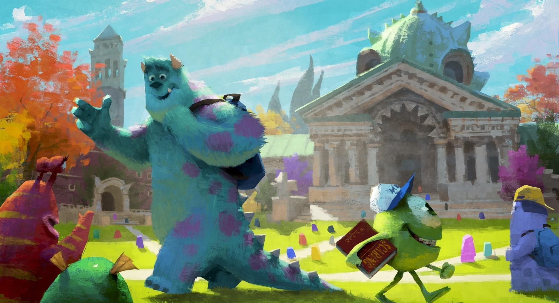 Monster University 2013 Concept Art wallpapers HD quality