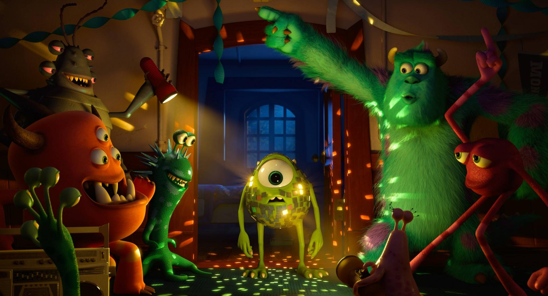 Monster University Party wallpapers HD quality