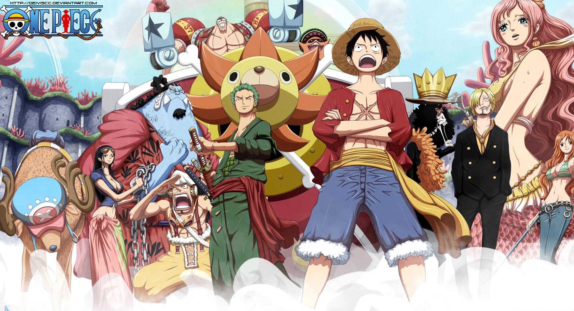 Mugiwara Pirates - Fishman Island wallpapers HD quality