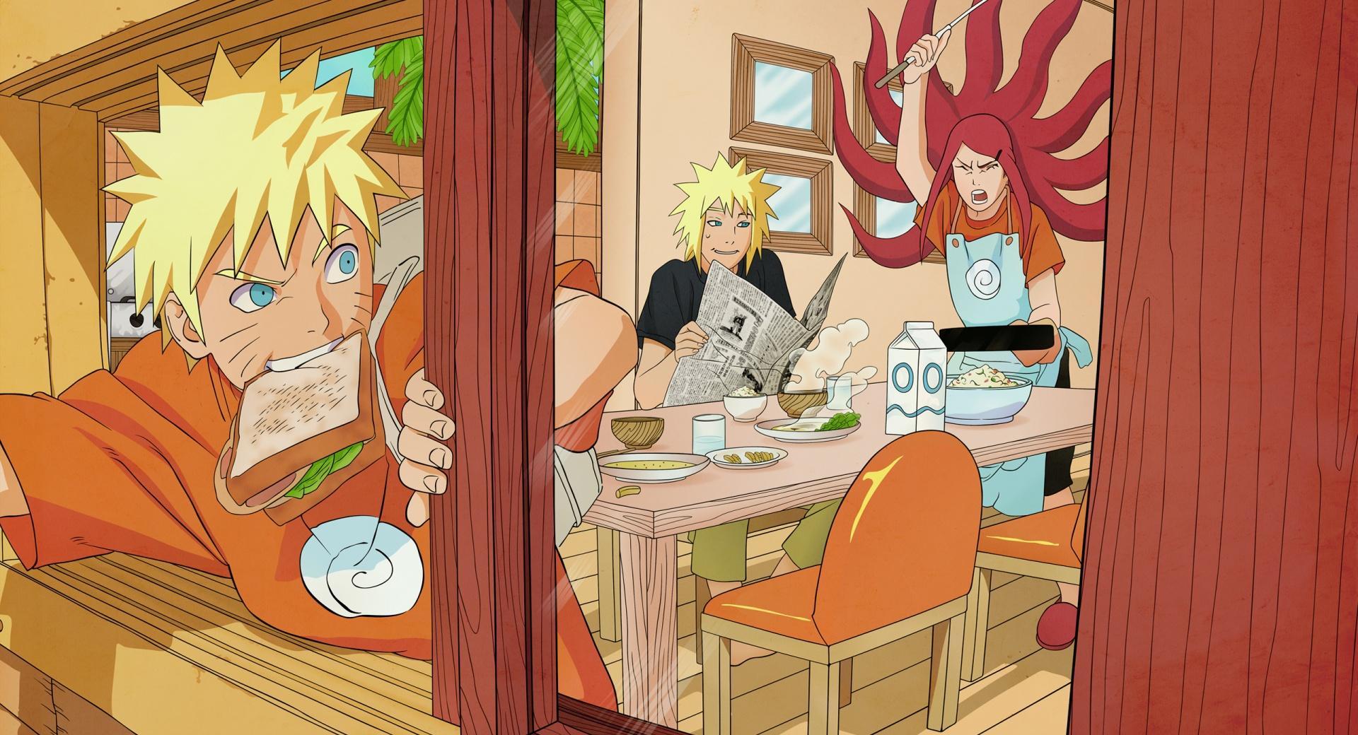 Naruto - The Uzumaki Family wallpapers HD quality