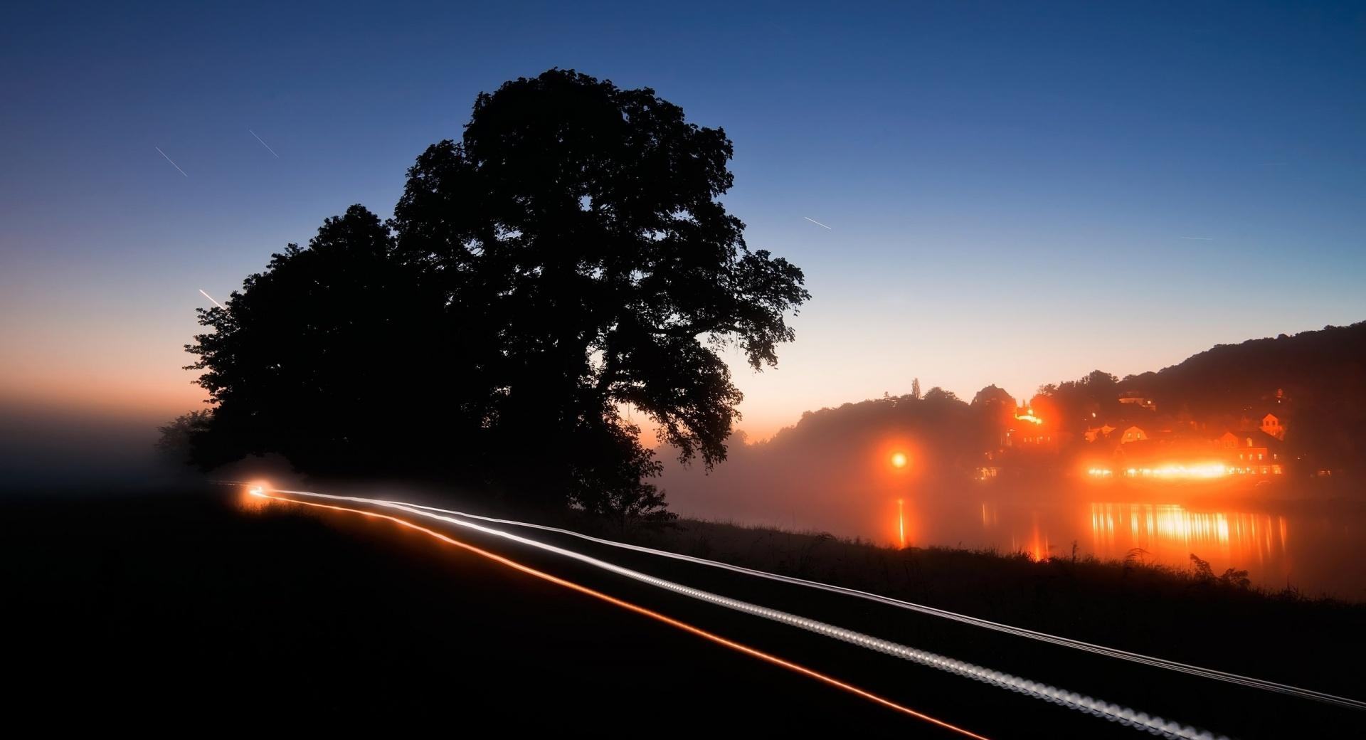 Night Highway wallpapers HD quality