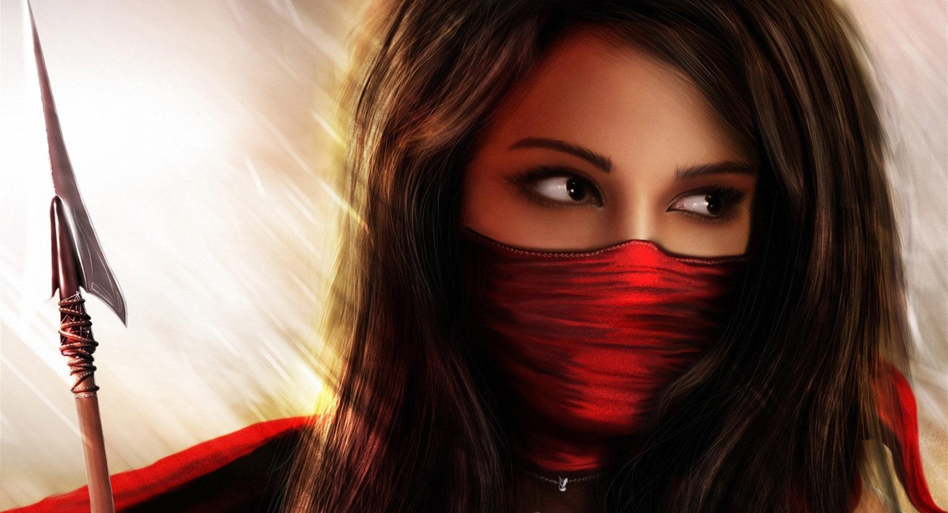 Ninja Girl Fantasy wallpapers HD quality
