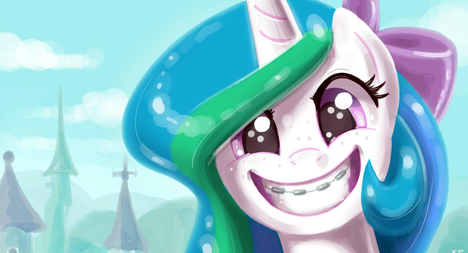 Pony Portraits at 640 x 960 iPhone 4 size wallpapers HD quality