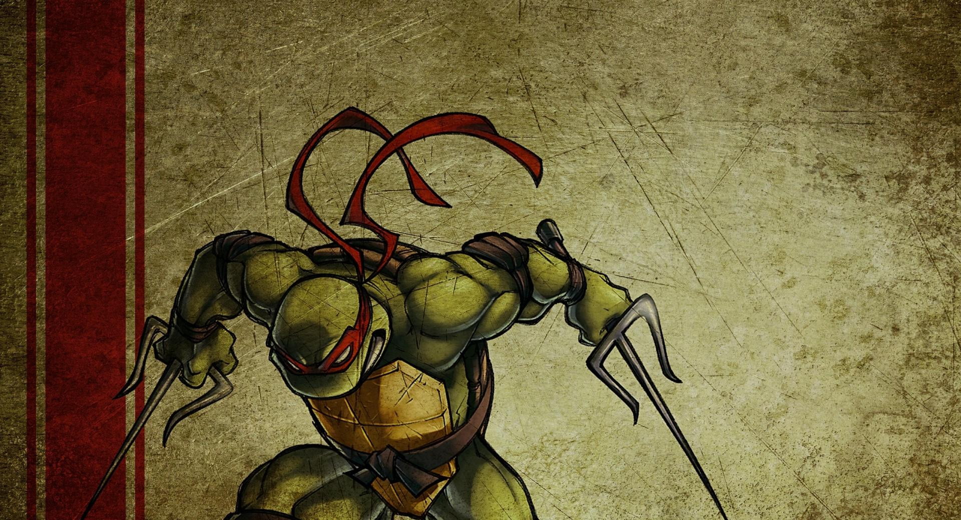Raphael Teenage Mutant Ninja Turtles at 640 x 960 iPhone 4 size wallpapers HD quality