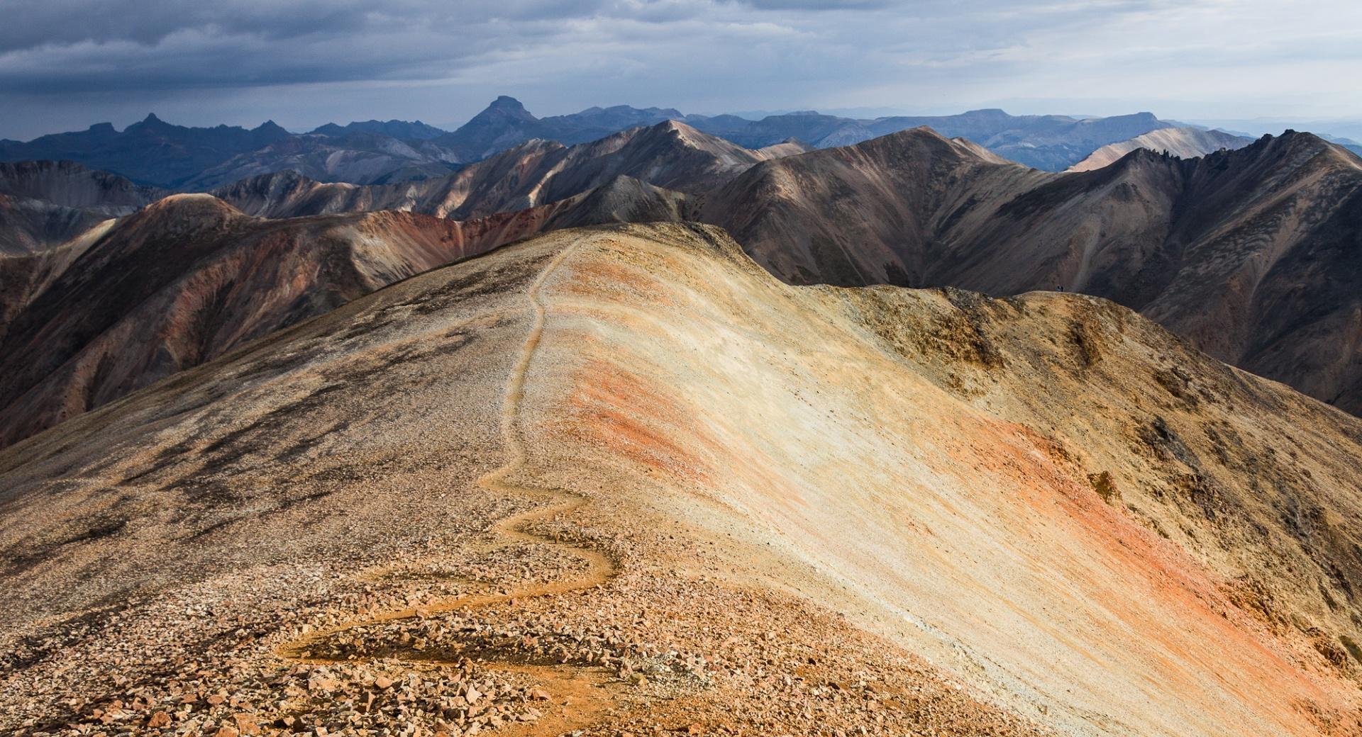 Redcloud Peak Mountain Ridge wallpapers HD quality