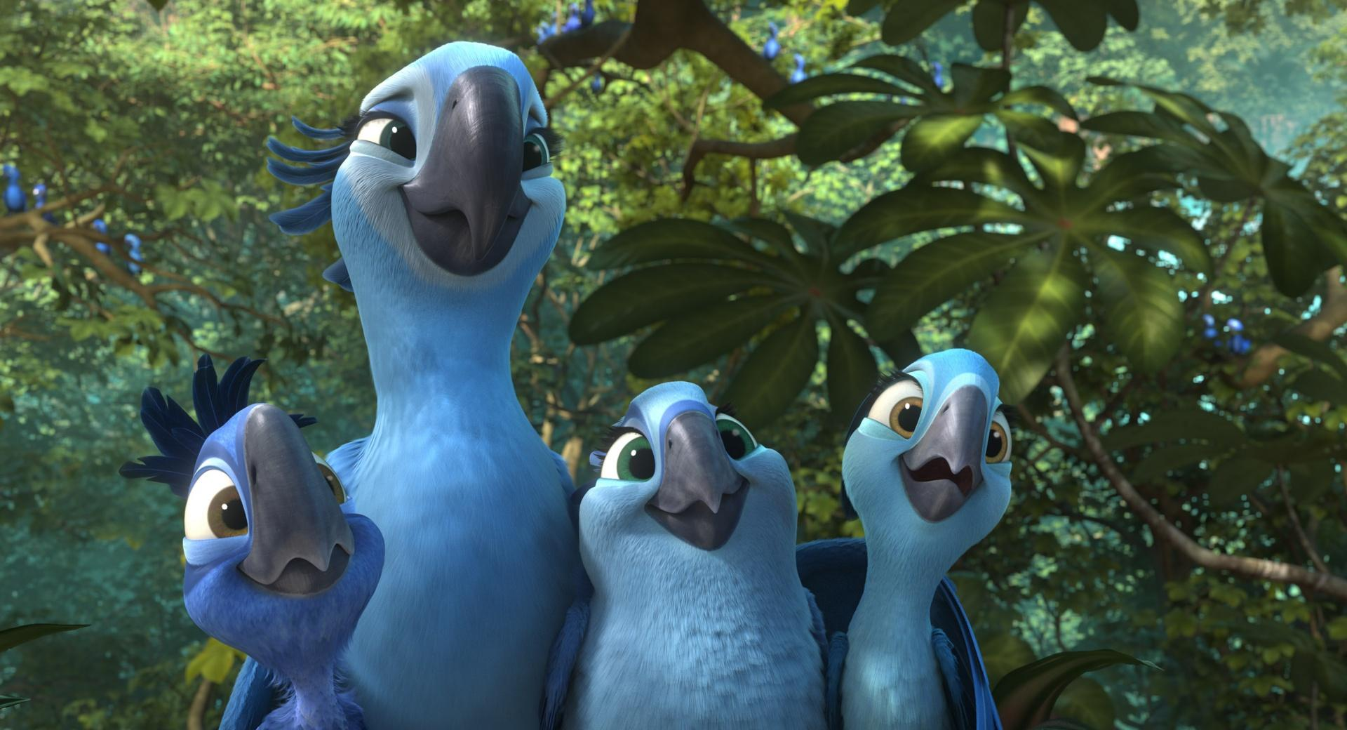 Rio 2 Jewel and Kids wallpapers HD quality