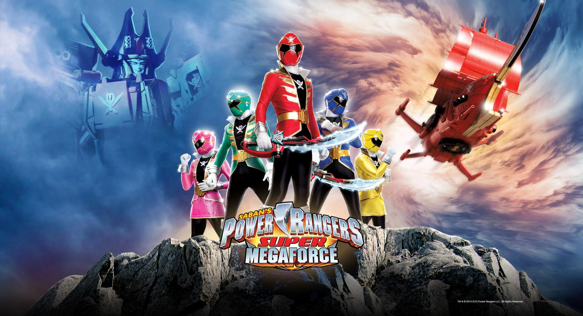 Sabans Power Rangers Super Megaforce wallpapers HD quality