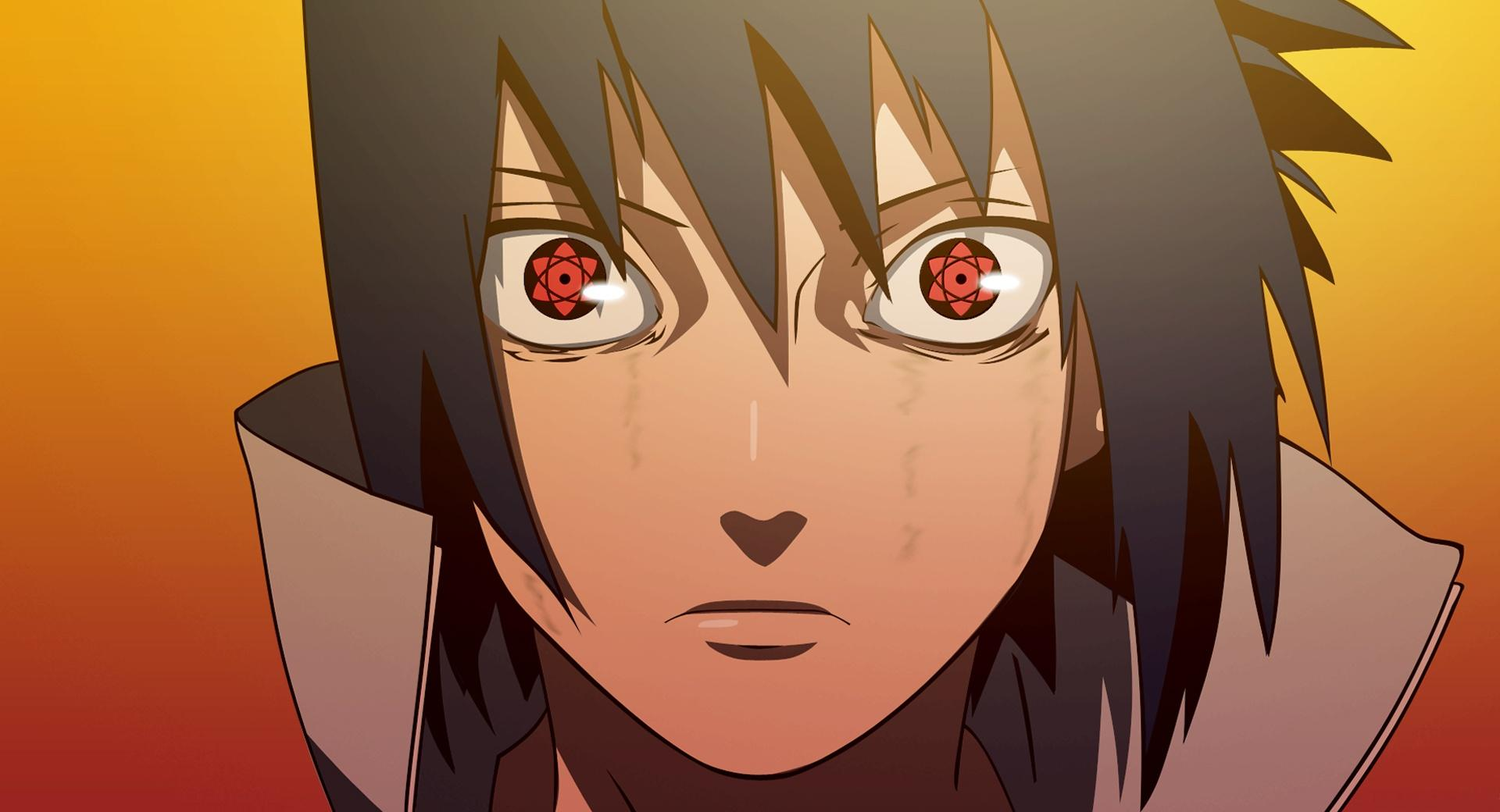 Sasuke - Mangekyou Sharingan wallpapers HD quality
