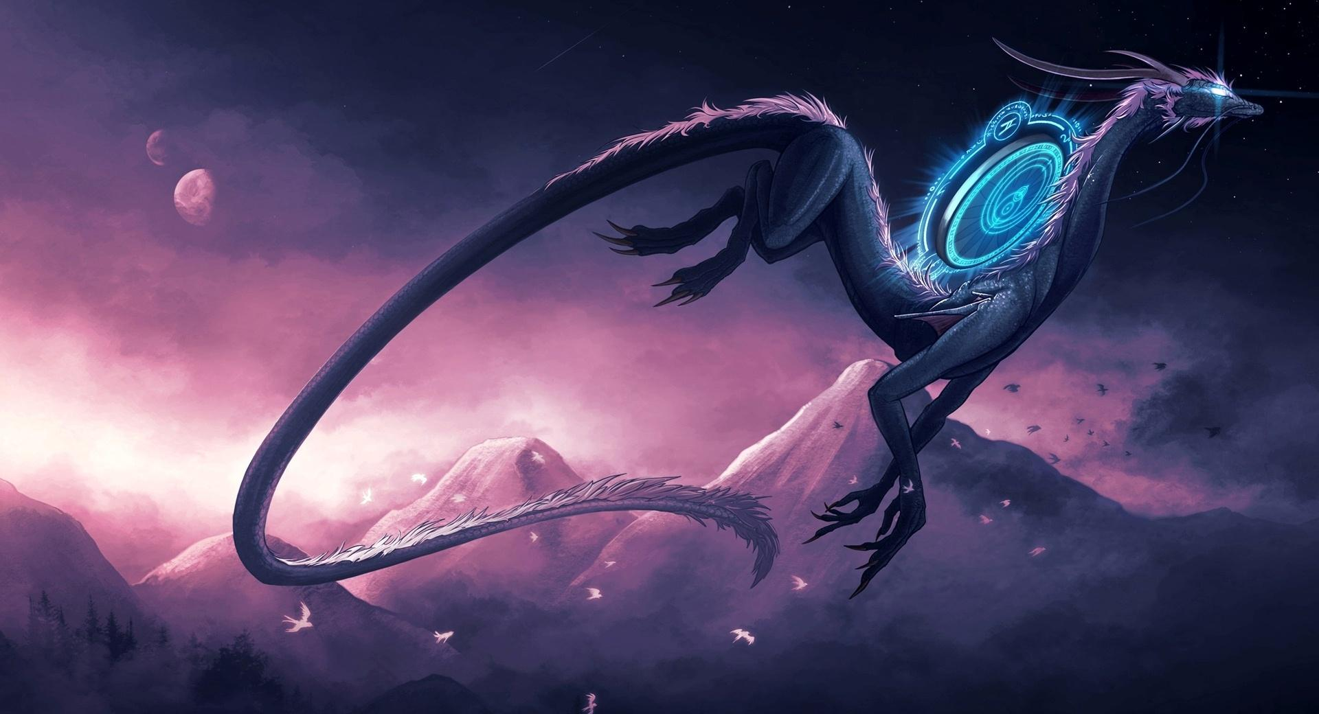 Science Fiction Dragon wallpapers HD quality