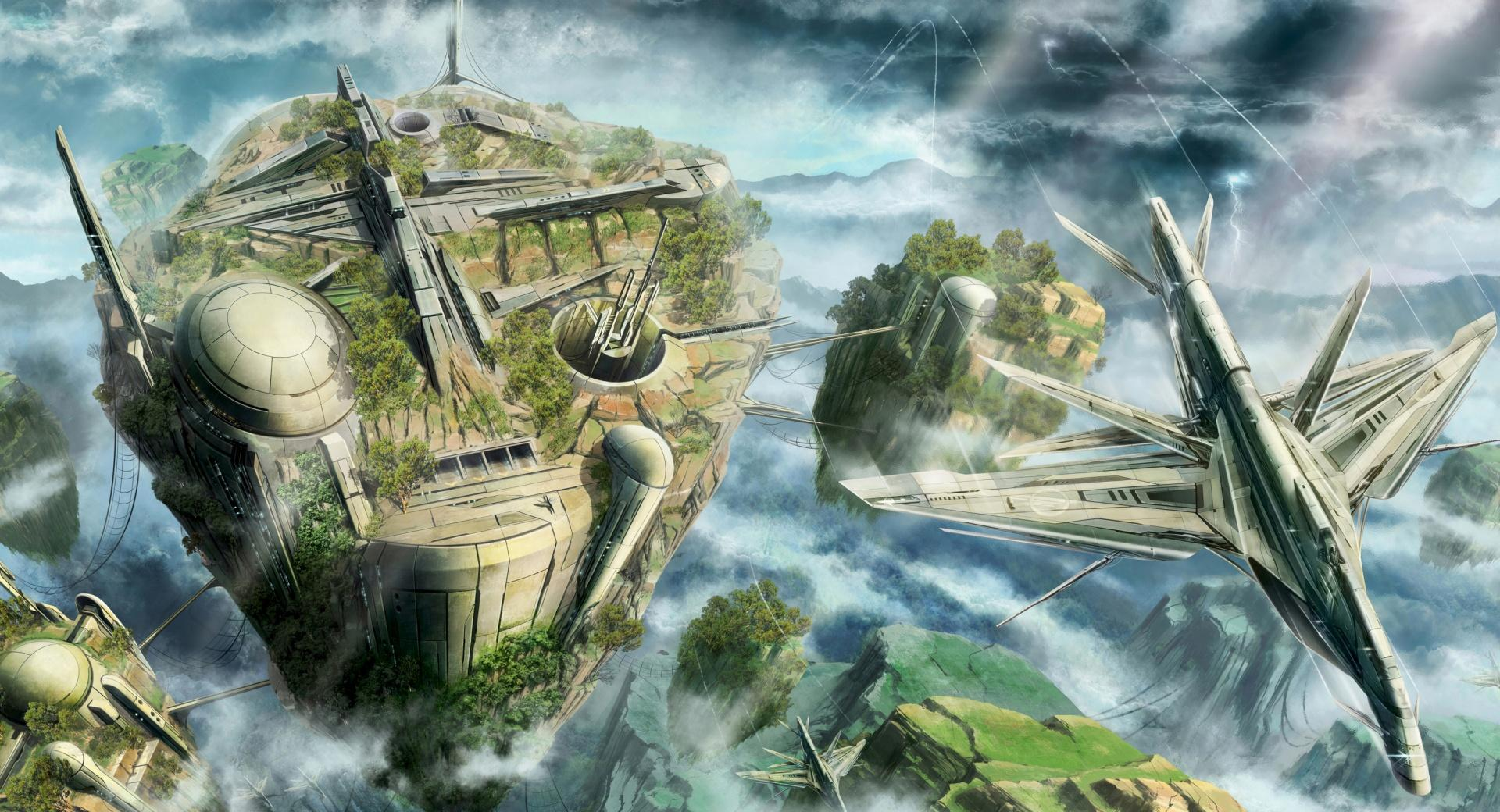 Science Fiction Scenery wallpapers HD quality