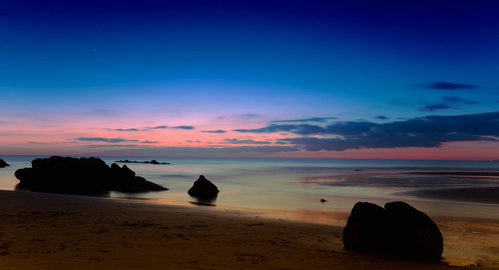 Seascape At Dusk wallpapers HD quality