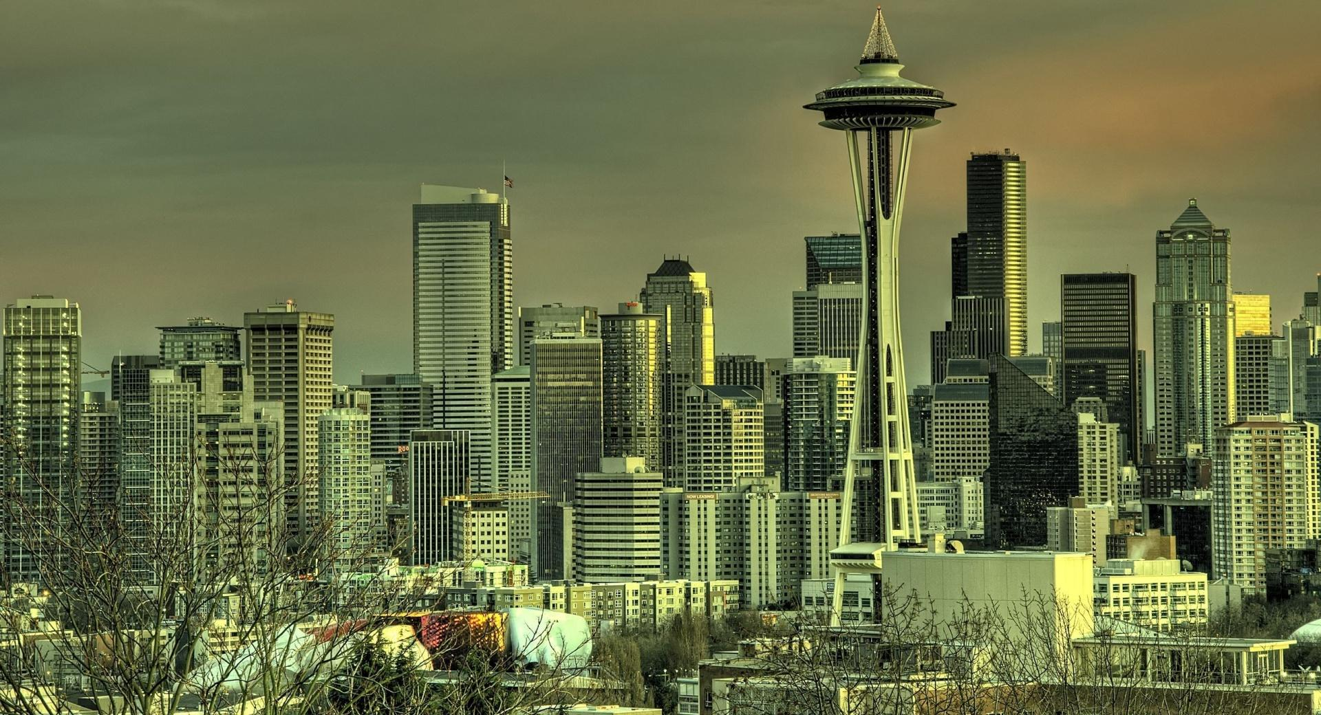 Seattle Tower wallpapers HD quality