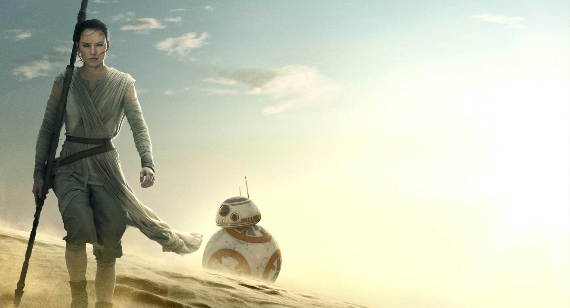 Star Wars The Force Awakens Rey BB-8 wallpapers HD quality