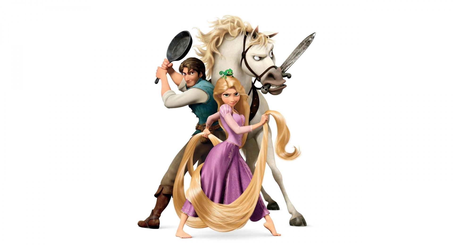Tangled Disney  Rapunzel And Flynn Ryder wallpapers HD quality