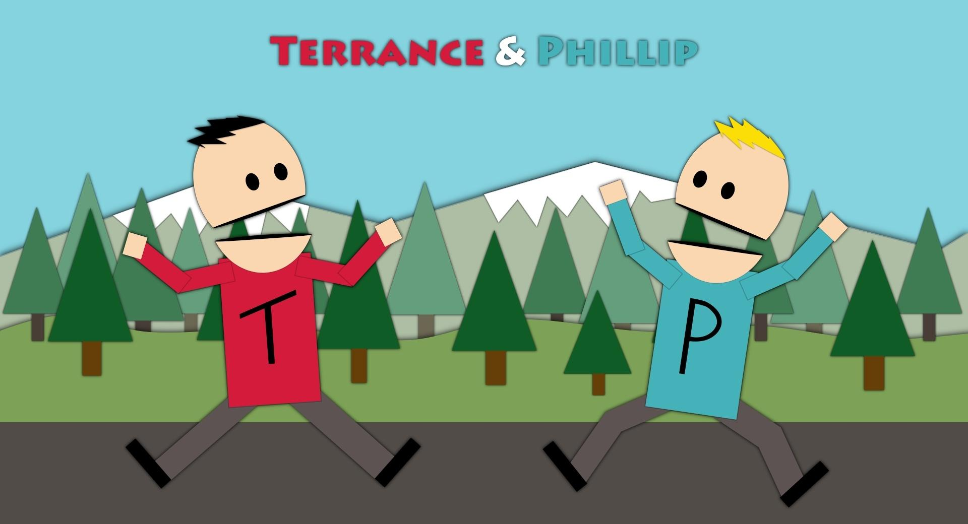 Terrance and Phillip v2 wallpapers HD quality
