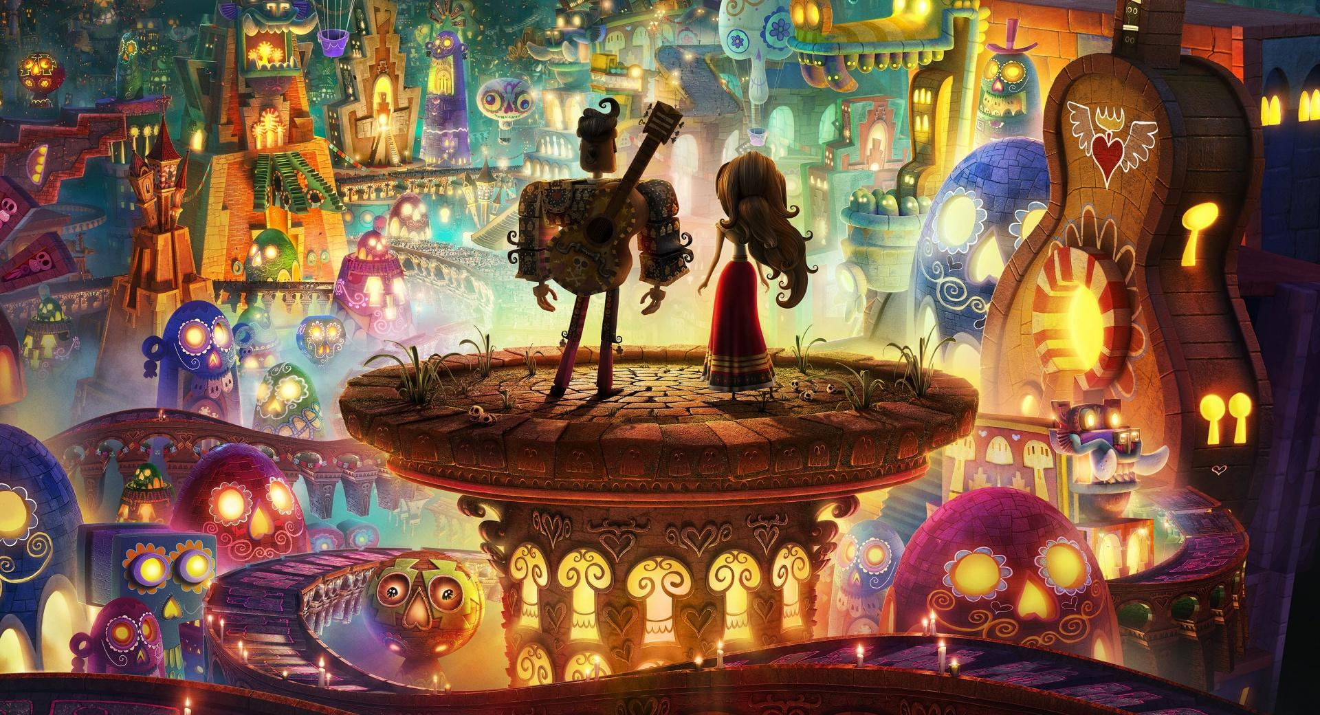 The Book of Life 2014 wallpapers HD quality