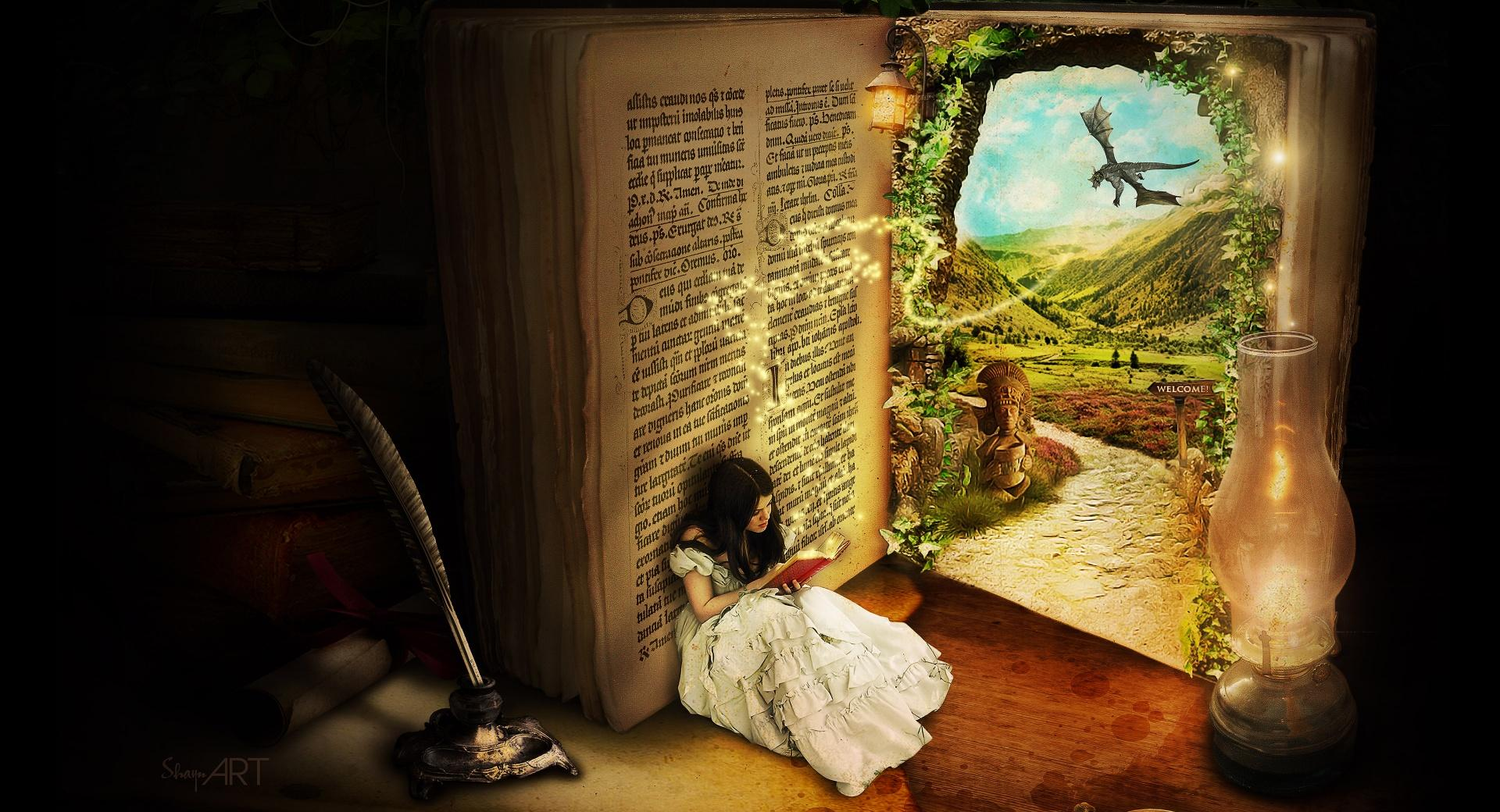 The Book Of Secrets by ShaynART wallpapers HD quality
