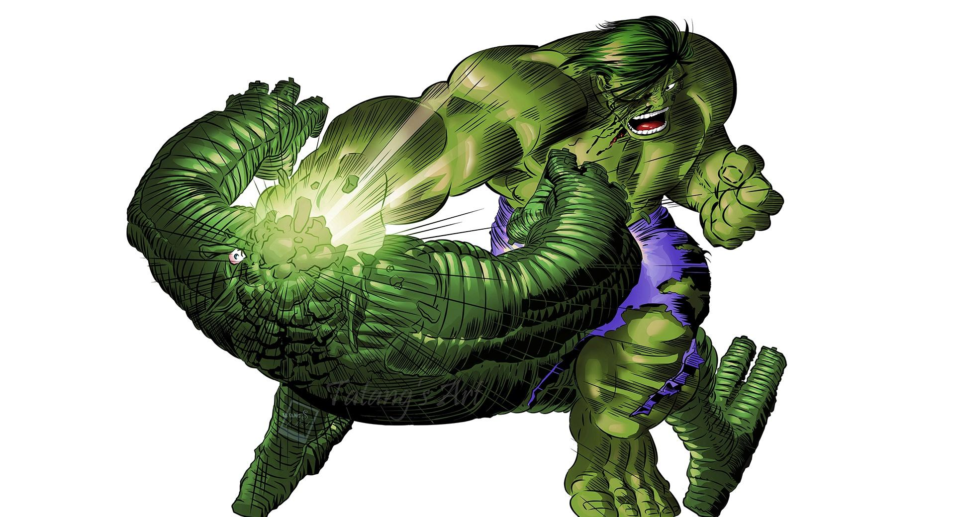 The Hulk by Tame Achi wallpapers HD quality