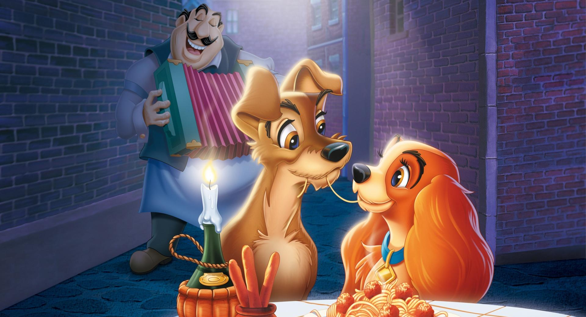 The Lady and The Tramp wallpapers HD quality