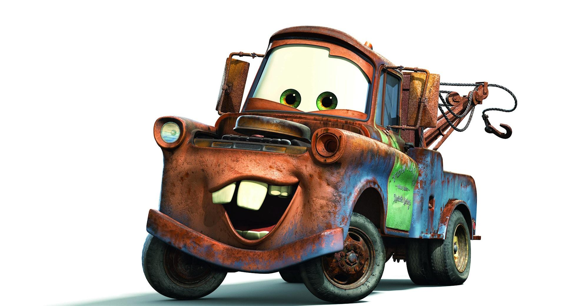 Tow Mater Cars Movie wallpapers HD quality
