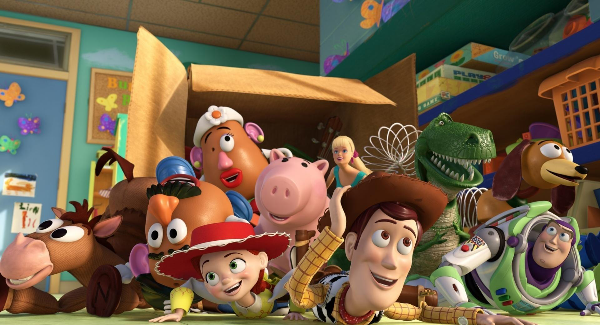 Toy Story 3 Box Toy wallpapers HD quality