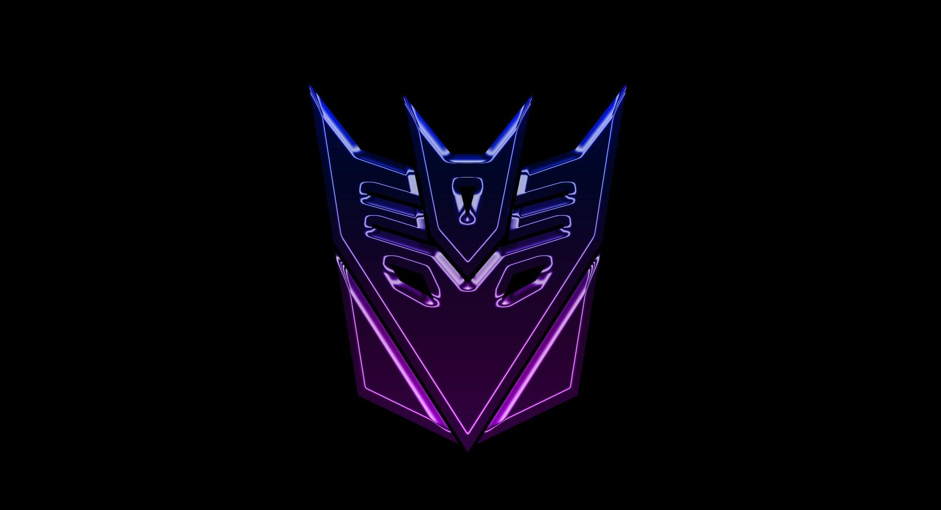 Transformers Decepticons Logo Widescreen at 1024 x 1024 iPad size wallpapers HD quality
