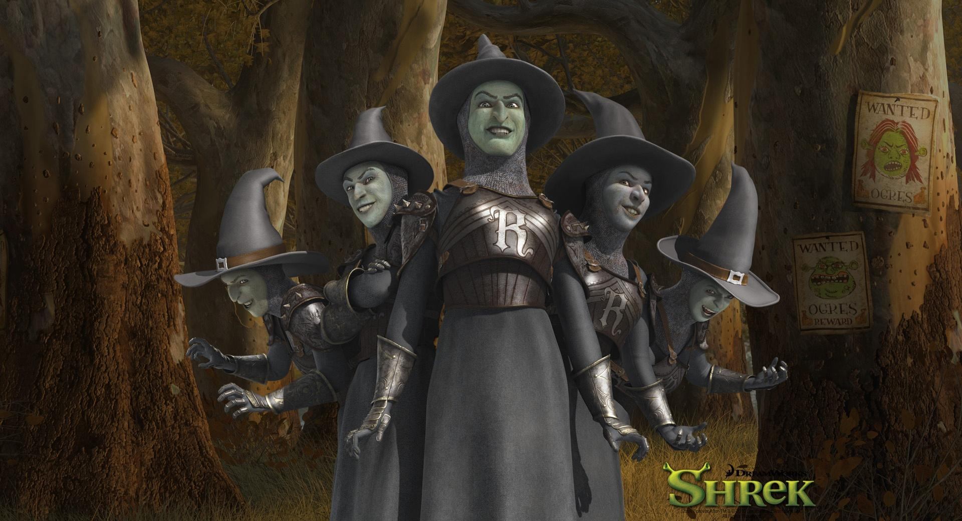 Witches, Shrek The Final Chapter wallpapers HD quality