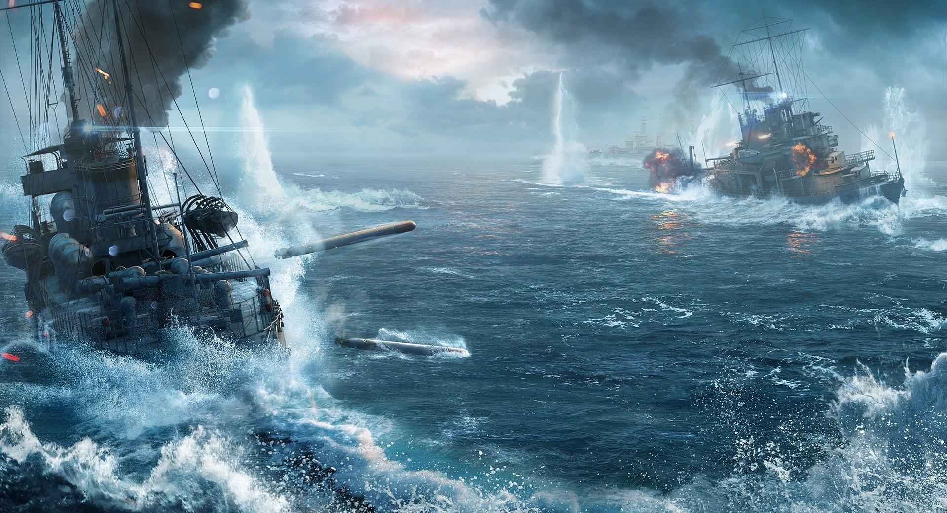 World Of Warship Ships wallpapers HD quality