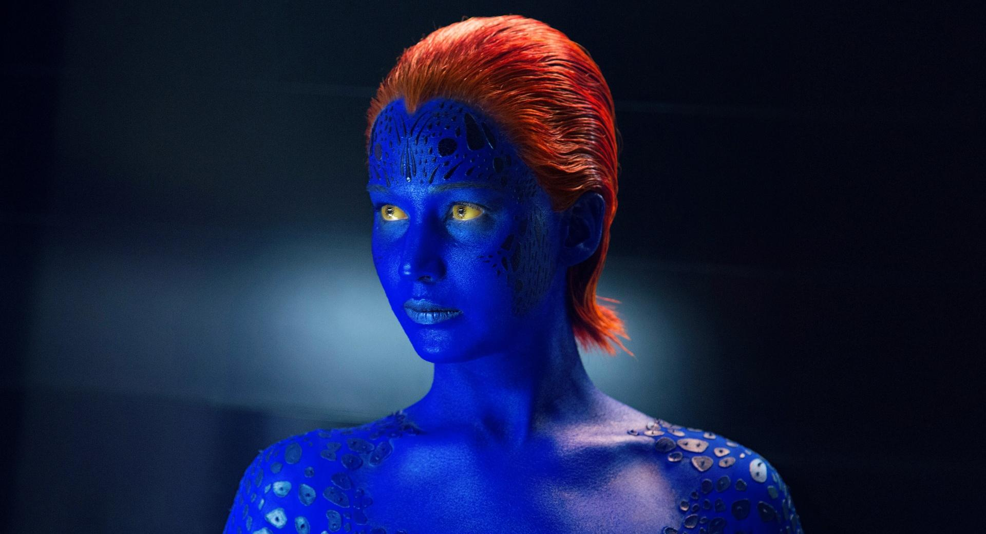 X-Men Days Of Future Past Mystique at 320 x 480 iPhone size wallpapers HD quality