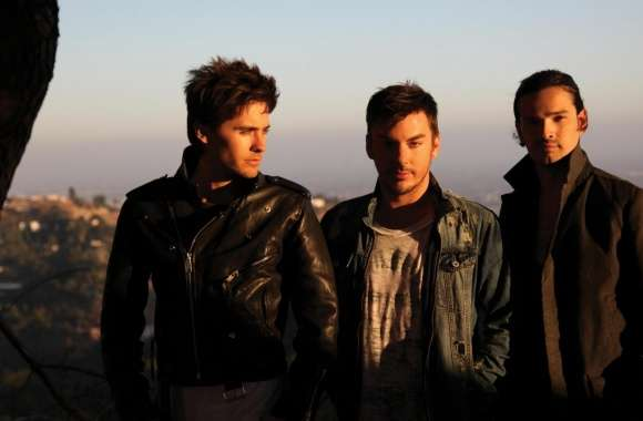 30 Seconds To Mars Band Outdoors