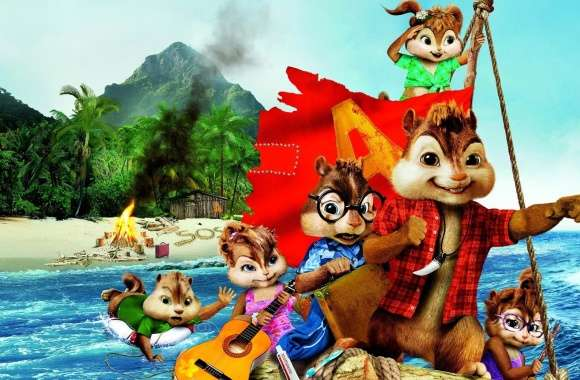 Alvin and the Chipmunks Chipwrecked (2011)