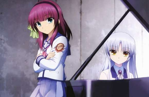 Angel Beats - Yuri And Angel