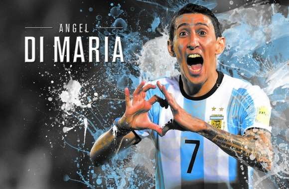 Angel Di Maria Argentina - 2016 wallpapers hd quality