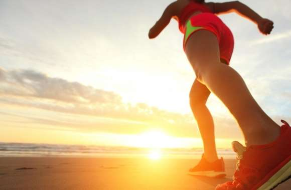 Beach Jogging wallpapers hd quality