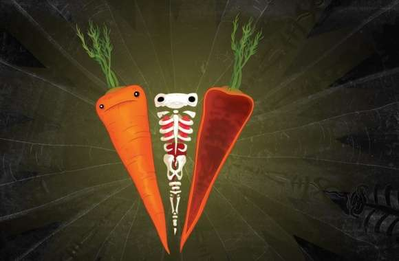 Carrots Artwork wallpapers hd quality