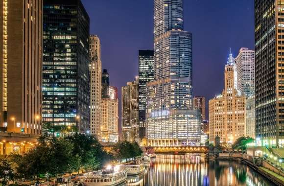 Chicago City Illinois wallpapers hd quality