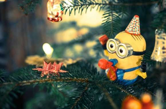 Christmas Tree Minion wallpapers hd quality