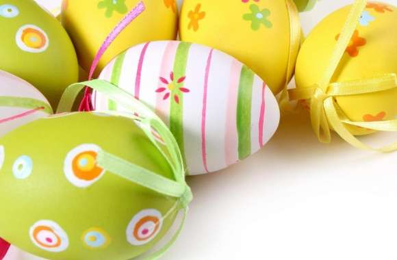 Colorful Easter Eggs wallpapers hd quality