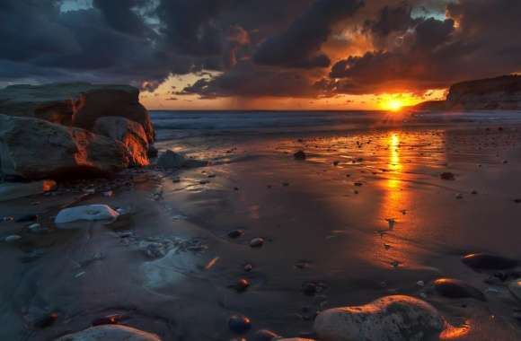 Dark Beach wallpapers hd quality