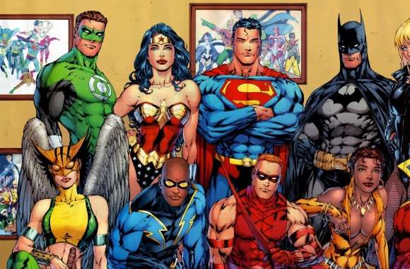 DC Comics Superheroes