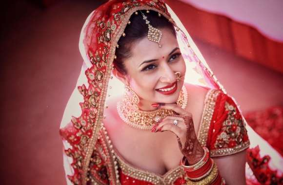 Divyanka Tripathi Wedding Bride