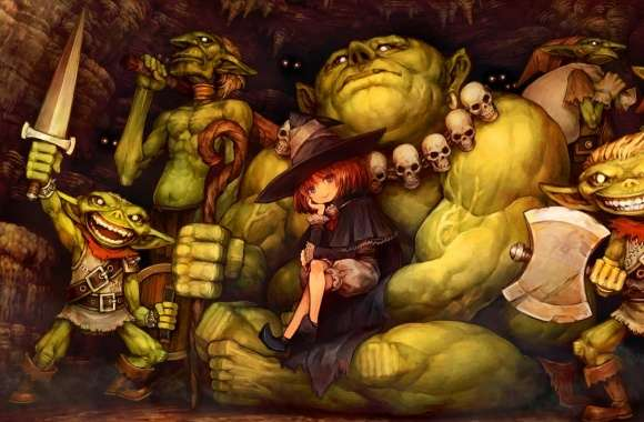 Dragons Crown Goblins