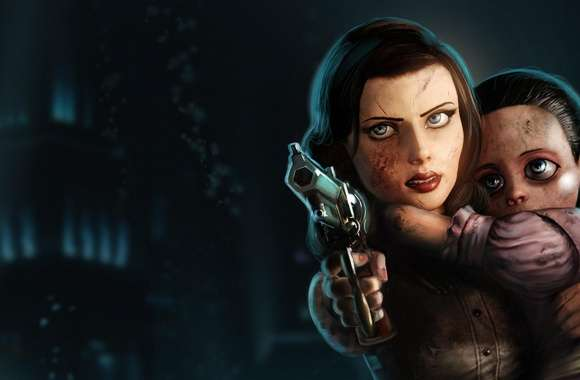 Elizabeth Bioshock Infinite Burial At Sea