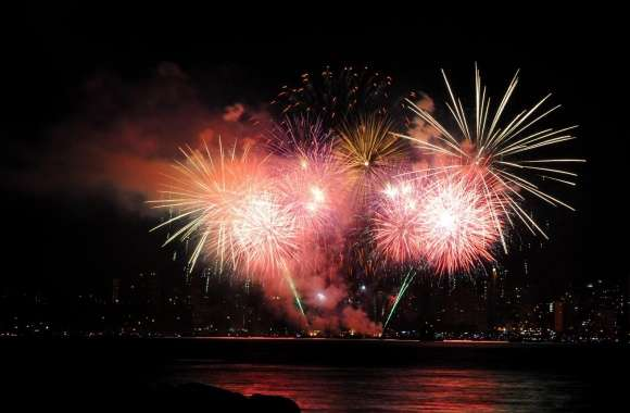 Fireworks On New Years Eve wallpapers hd quality