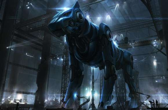 Giant Robot Dog
