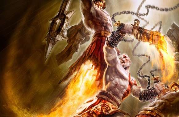 God Of War Game Battle