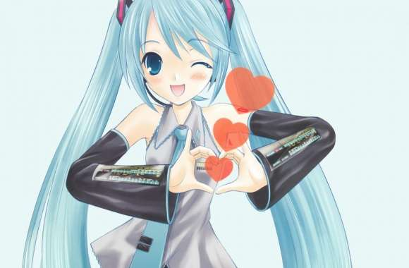 Hatsune Miku In Love